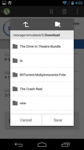 Клиент µTorrent для загрузки файлов