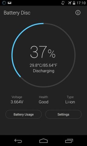 Приложение Battery disc