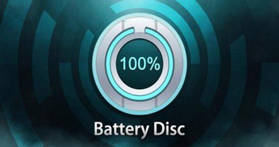 Battery disc