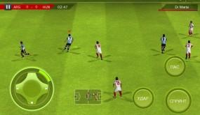 Real Football 2012 футбольный симулятор