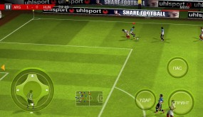 Real Football 2012 для Android