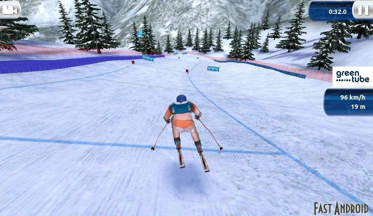 скачать симулятор лыжных гонок
