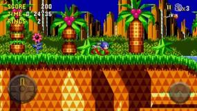 Известна аркада Sonic CD