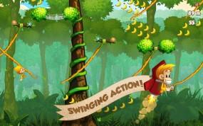 Benji Bananas собирайте обезьянкой бананы