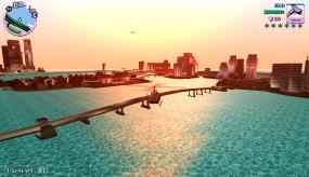 Полёт на вертолете в Grand Theft Auto Vice City