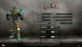 Real Steel HD характеристики бойца
