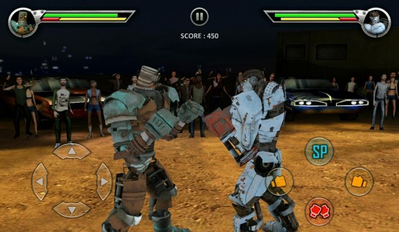 Real Steel HD бой роботов