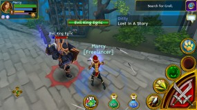 Многопользовательская игра Arcane Legends
