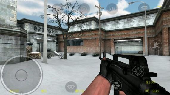 Карта в CS Portable
