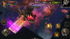 Dungeon Hunter 4 создайте героя и начните бой