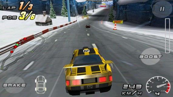 Raging Thunder 2 для Android