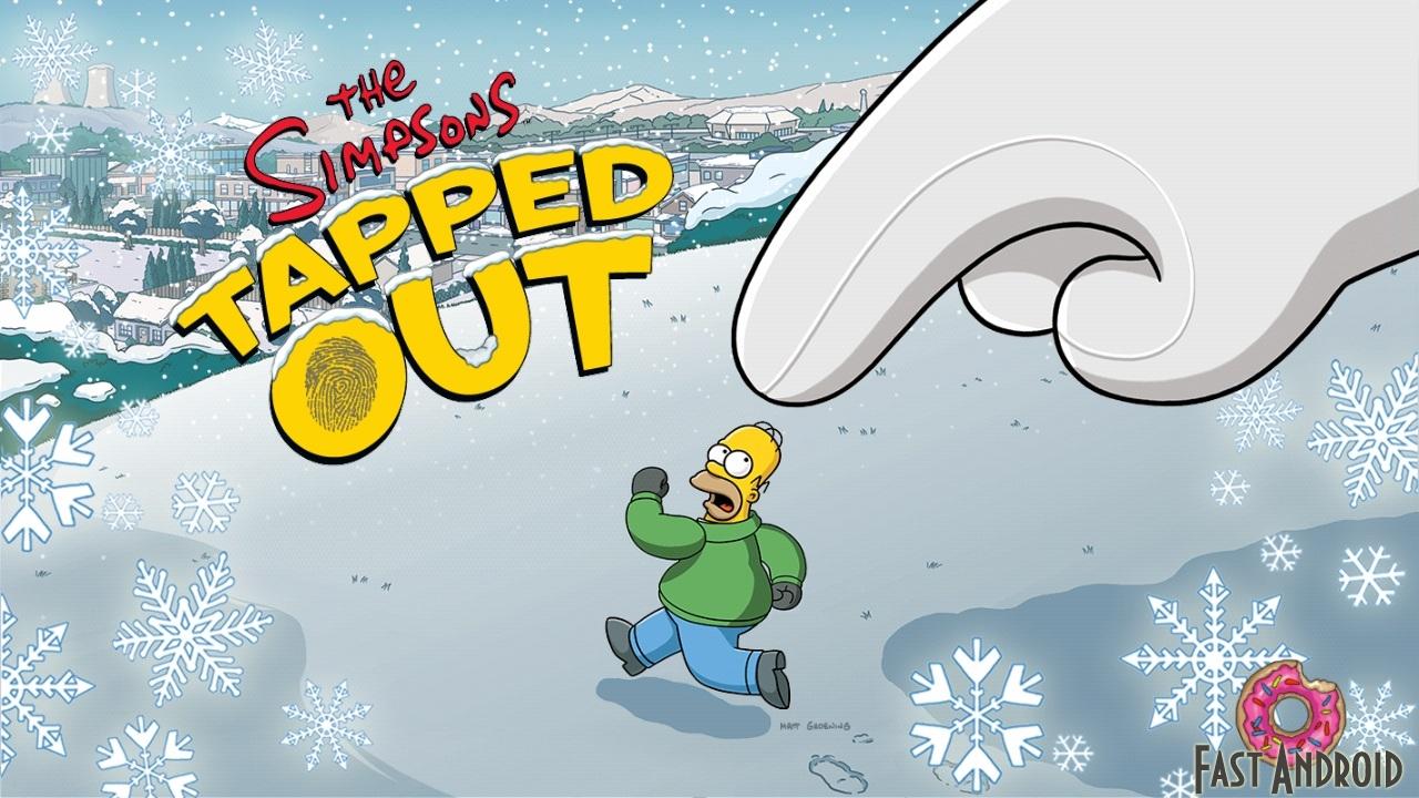 Игра The Simpsons Winter