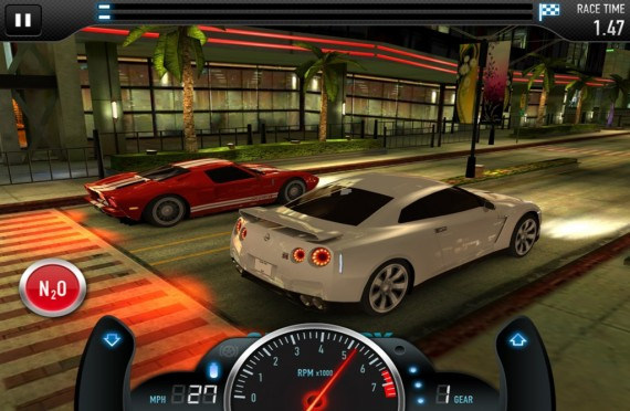 Игра CSR Racing