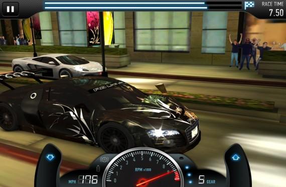 CSR Racing для Android