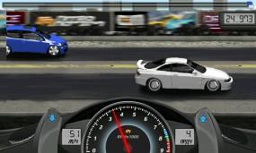 Интересная гоночная игра Drag Racing