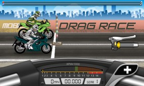 Старт заезда Drag Racing Bike Edition