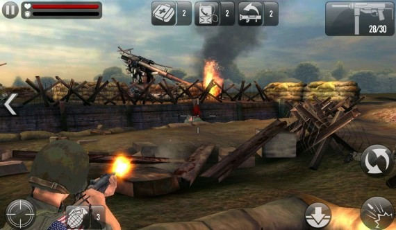 Стрелялка FRONTLINE COMMANDO D DAY