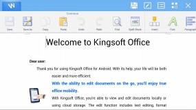 Kingsoft Office для Android