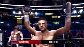 Удар в Real Boxing