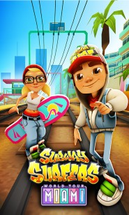 Раннер Subway Surfers Miami