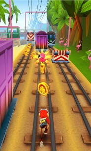 Красочный Subway Surfers Miami