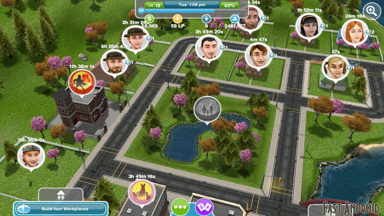 The Sims FreePlay на андроид - top-android.org