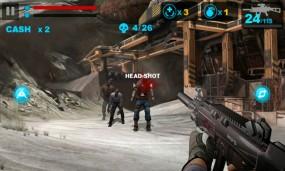 Уничтожайте зомби в Zombie Frontier