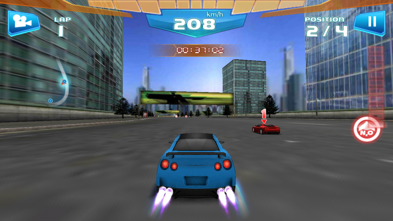 Быстрые гонки 3d fast racing