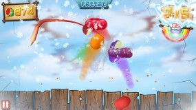 Fruit Ninja vs Skittles для Android