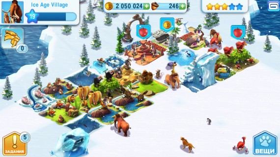 Ice Age Village для Android