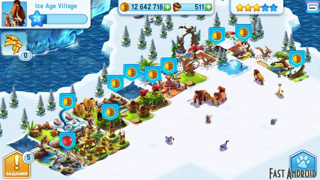 белка с ледникового периода игра онлайн