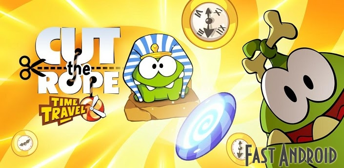 Изображение Cut the Rope Time Travel