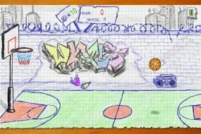 Спортивная игра Doodle Basketball