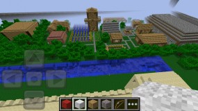 Обзор мира Minecraft Pocket Edition