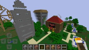 Здания Minecraft Pocket Edition
