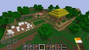 Minecraft Pocket Edition соорудите свою местность