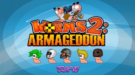 Заставка Worms 2