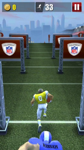Игра NFL Runner Football Dash