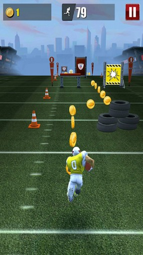 Раннер NFL Runner Football Dash