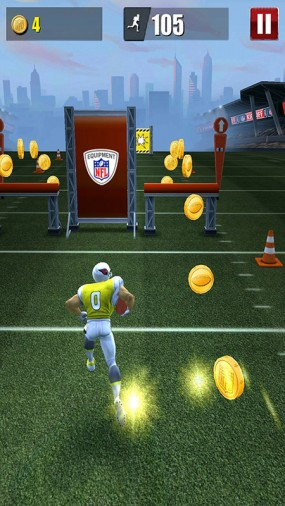 Аркада NFL Runner Football Dash