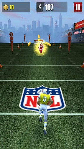 Спортивный раннер NFL Runner Football Dash