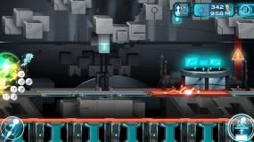 Прыгайте с платформы на платформу в Gravity Guy 2