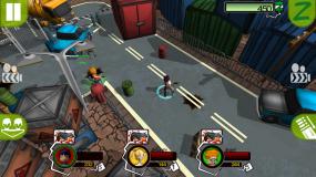 Три персонажа против полпы зомби Hot Zomb
