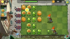 Защищайте лужайку от зомби Plants vs Zombies 2
