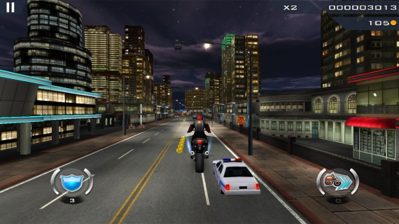 Dhoom3 The Game полёт с трамплина