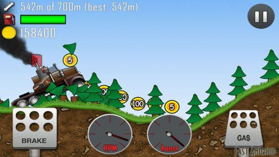 игра Hill Climb Racing на андроид