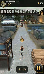 Hunger Games Panem Run преодолевайте препятствия
