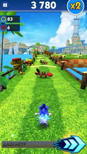 Раннер Sonic Dash