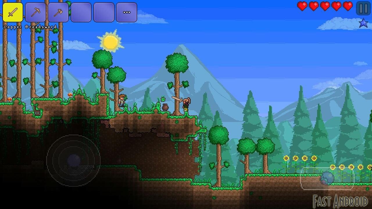 Terraria на андроид скачать бесплатно apk с кэшем