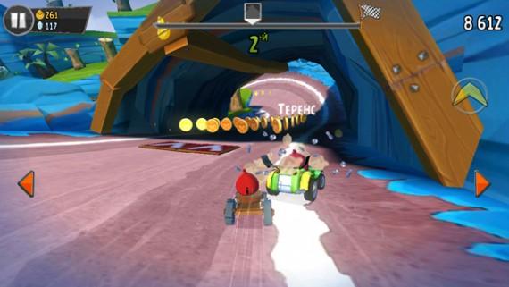 Angry Birds Go игра про злых птиц